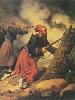 フランスのズアーヴ兵(1858年頃)