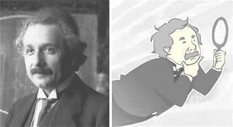 アインシュタインの思考実験 光速で移動したら鏡に自分の顔は映るか
