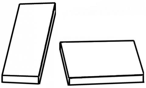 Shepard illusion シェパード錯視