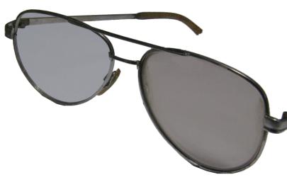 ガラス製調光レンズ